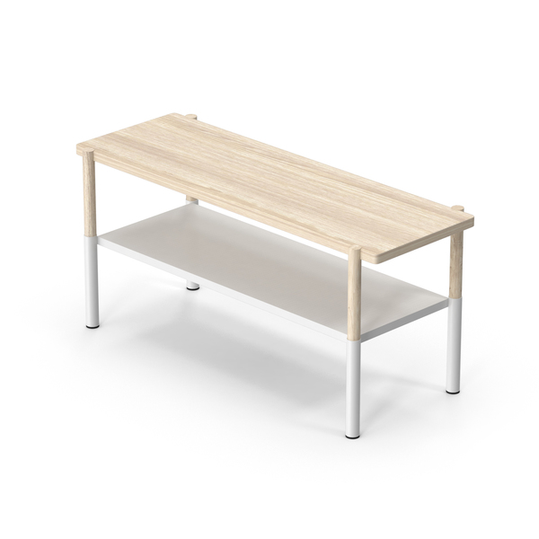 Bench with a Shelf for Shoes PNG & PSD Images