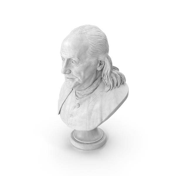 Benjamin Franklin Bust PNG & PSD Images