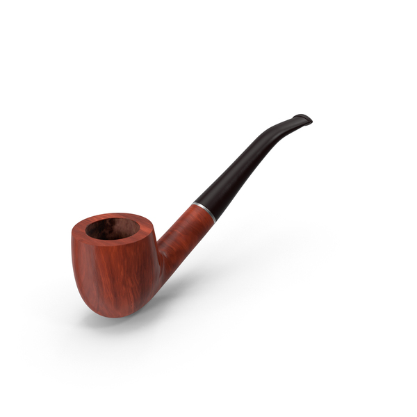 Bent Billiard Pipe Object