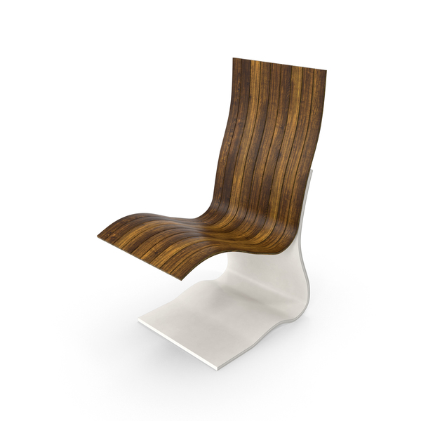Bent Wood Chair PNG & PSD Images