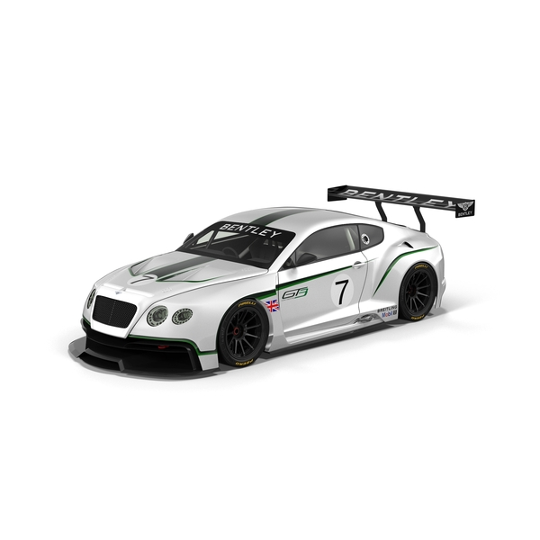 Race Car: Bentley Continental GT3 PNG & PSD Images