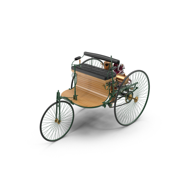 Antique Car: Benz Patent-Motorwagen PNG & PSD Images