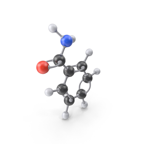 Benzamide Molecule PNG & PSD Images