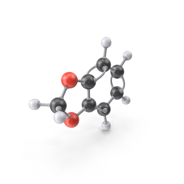Benzodioxole Molecule PNG & PSD Images