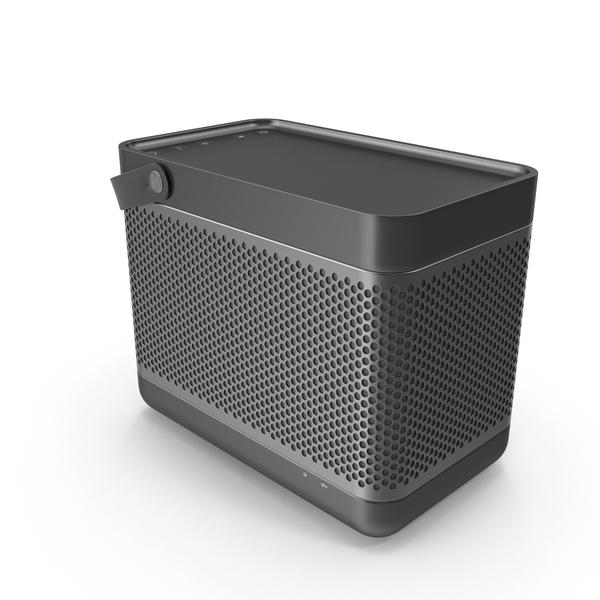 Beolit 17 Dark Speaker PNG & PSD Images