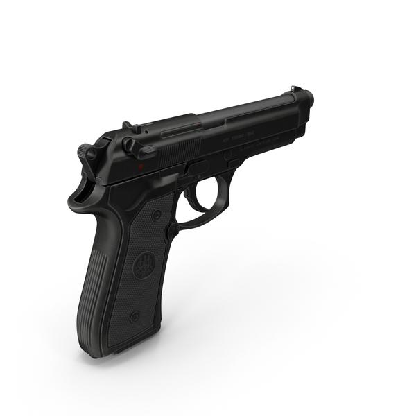 Beretta M9 Pistol PNG & PSD Images