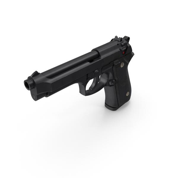 Beretta M9 PNG & PSD Images