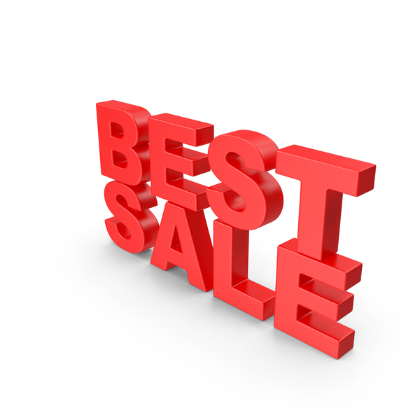 For Sign: Best Sale 3D Text PNG & PSD Images