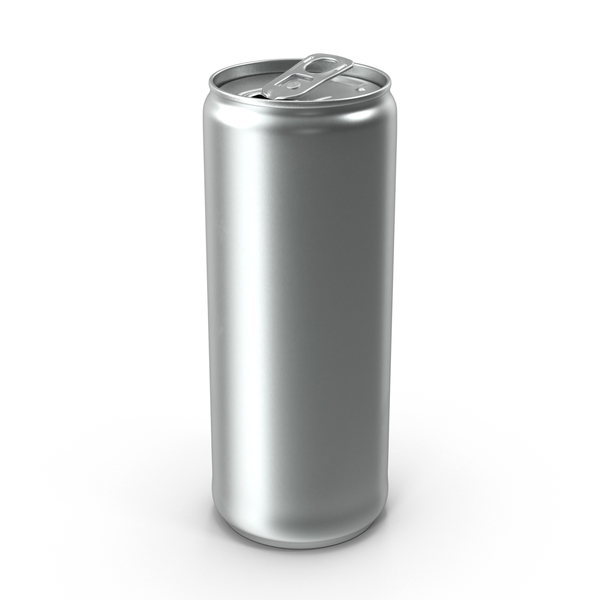 Beverage Can Slim 250ml Open PNG & PSD Images