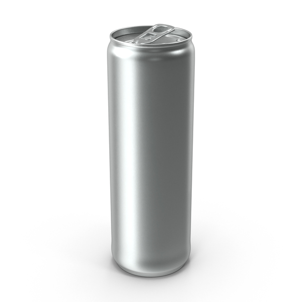 Beverage Can Slim 300ml Open PNG & PSD Images