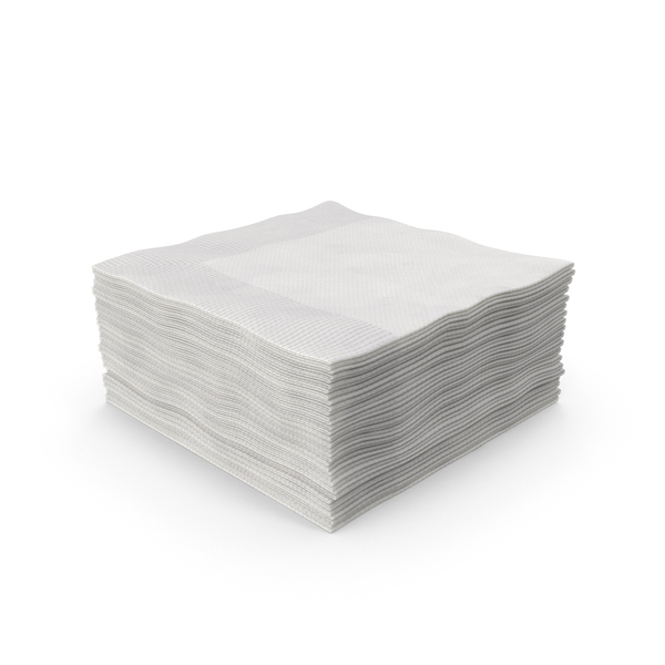 Beverage Napkin Stack Object