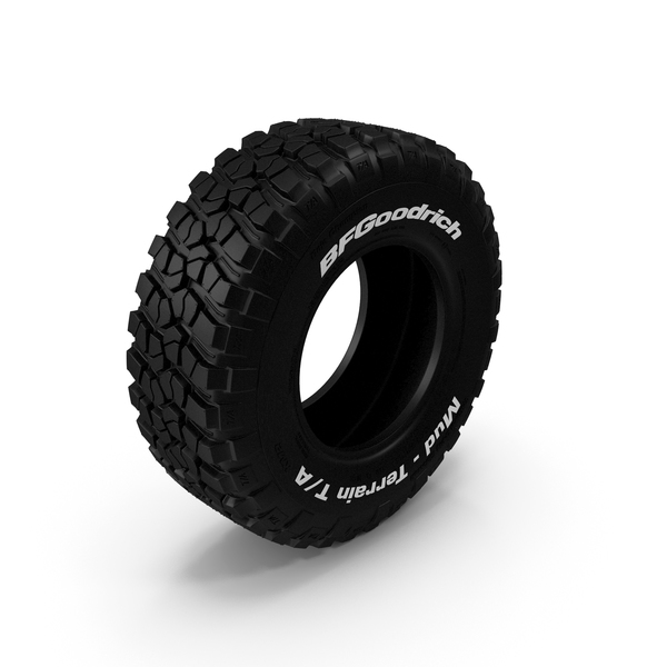 BF Goodrich Mud-Terrain Tire PNG & PSD Images
