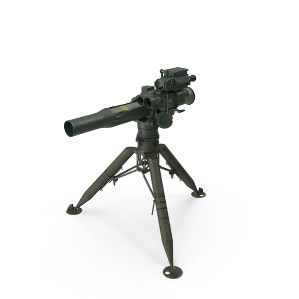 BGM-71 TOW Missile System Tripod Object
