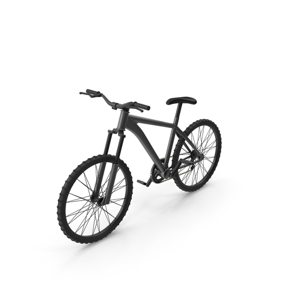 Mountain: Bicycle Black PNG & PSD Images