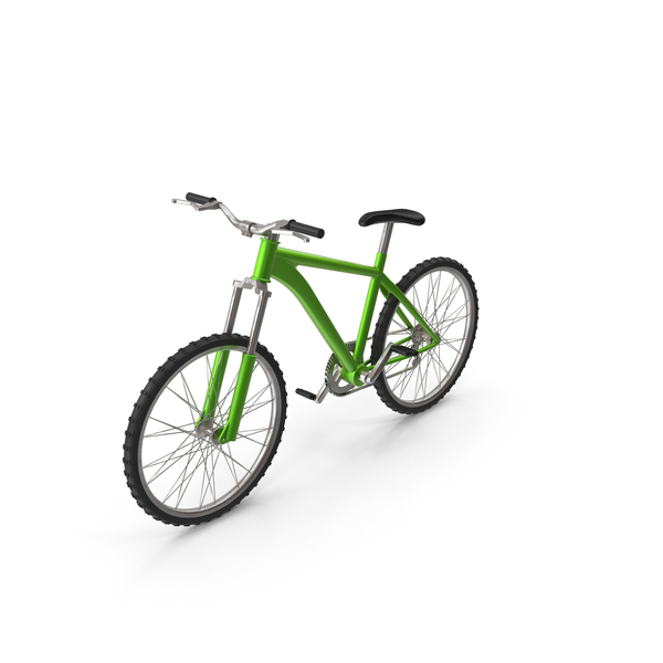 Mountain: Bicycle Green PNG & PSD Images