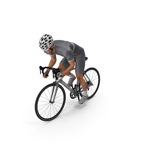 Bicyclist Riding Bike PNG & PSD Images