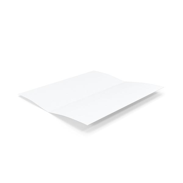 Menu: Bifold Brochure Mockup Object