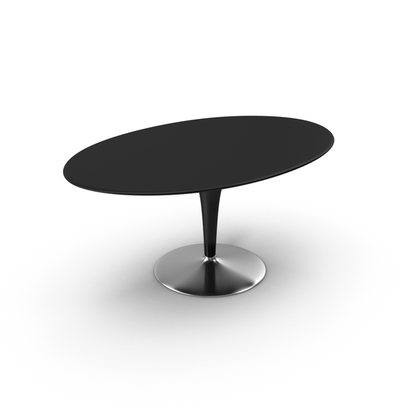 Big Bombo Table Black PNG & PSD Images