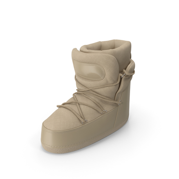Big Boots  Beige PNG & PSD Images
