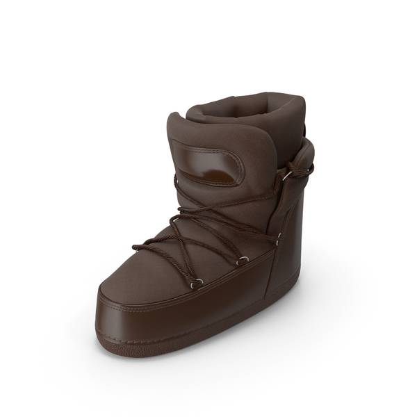 Big Boots Brown PNG & PSD Images