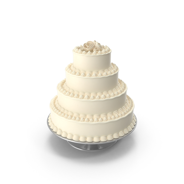 Wedding: Big Cake on Stand PNG & PSD Images