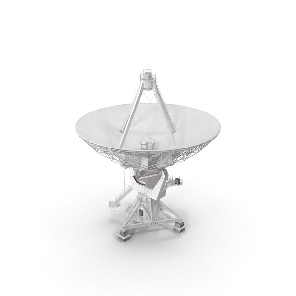 Big Parabolic Satellite Dish PNG & PSD Images