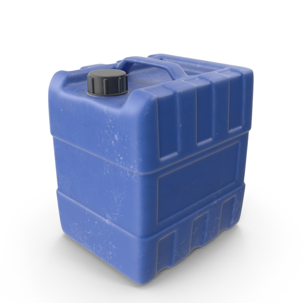 Big Plastic Jerry Can PNG & PSD Images