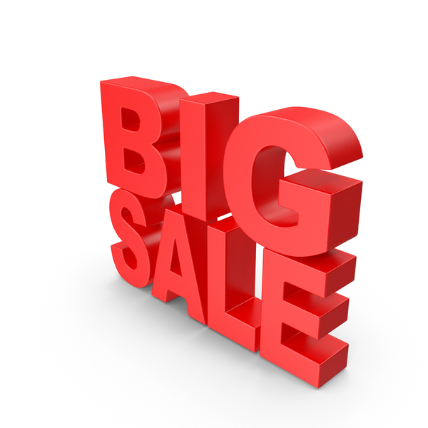 For Sign: Big Sale PNG & PSD Images