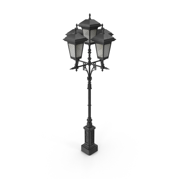 Big Street Lamp PNG & PSD Images