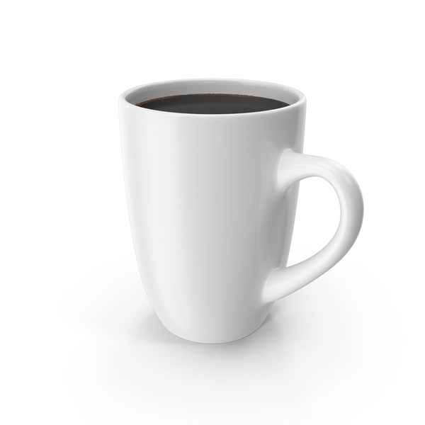 Big White Coffee Cup PNG & PSD Images