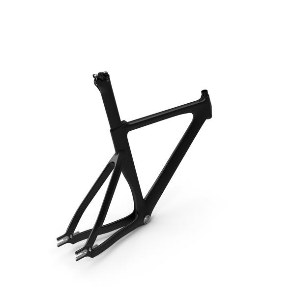 Bike Carbon Frameset PNG & PSD Images