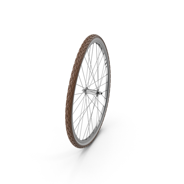 Bike Front Curved Wheel Object