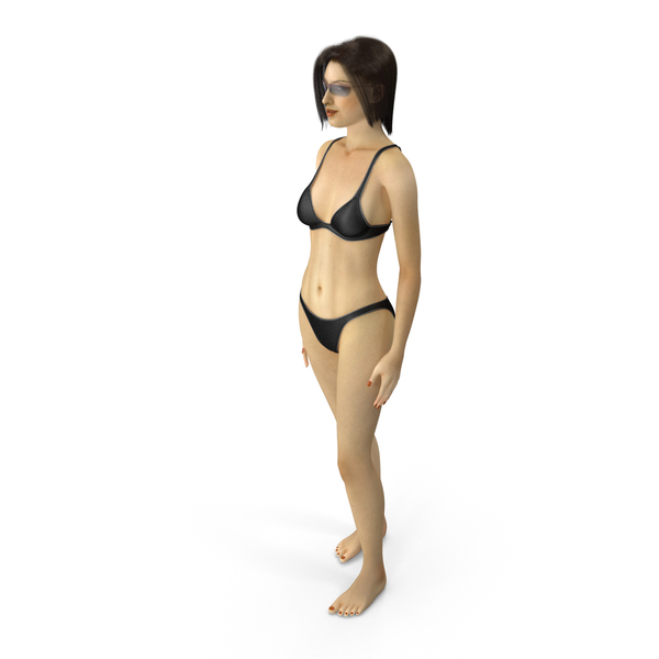 Woman: Bikini Girl PNG & PSD Images