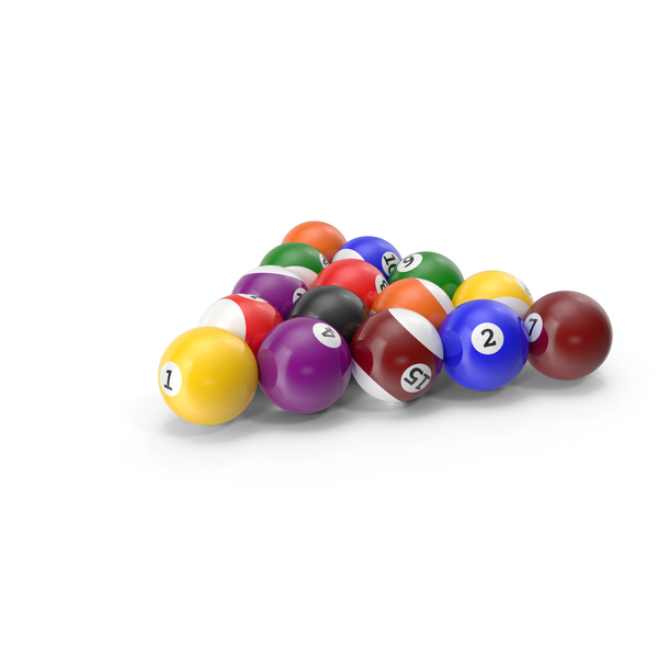 Billiard Balls PNG & PSD Images