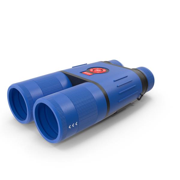 Binocular Blue New PNG & PSD Images
