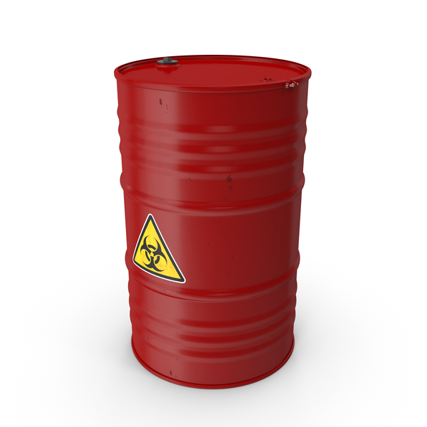 Bio-hazard Barrel PNG & PSD Images