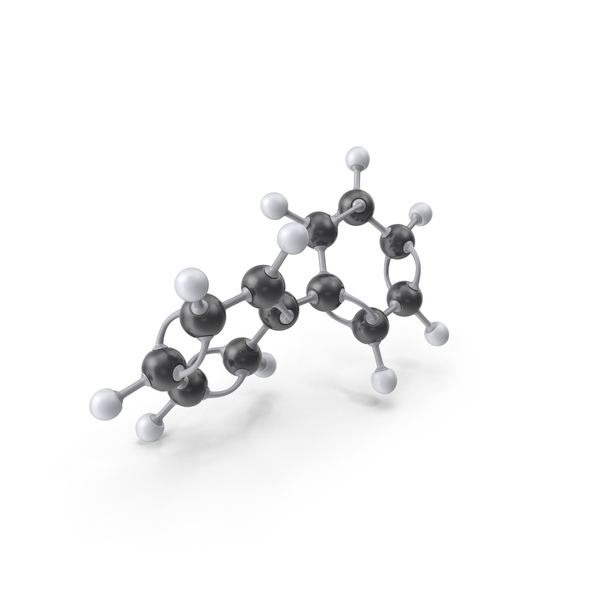 Biphenyl Molecule PNG & PSD Images