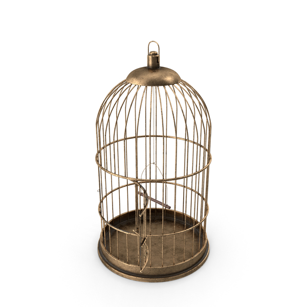 Bird Cage Open PNG & PSD Images