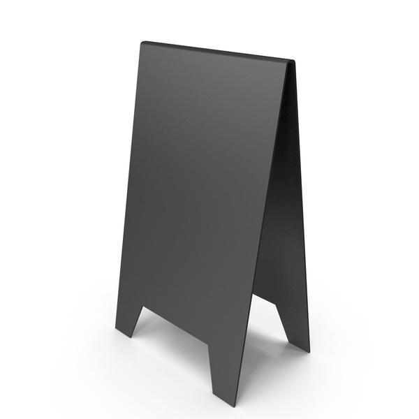Black A Frame Sign PNG & PSD Images