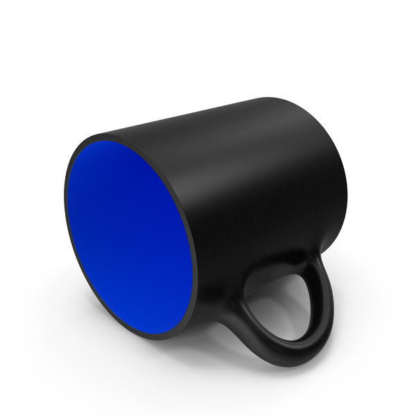 Zarf: Black and Blue Cup PNG & PSD Images
