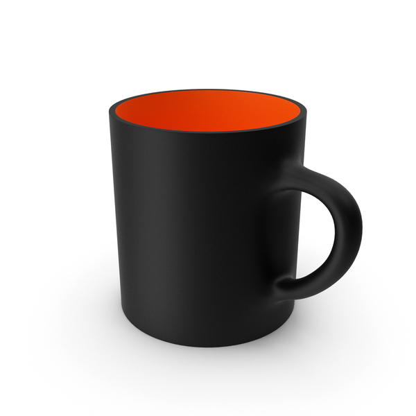 Zarf: Black and Red Cup PNG & PSD Images