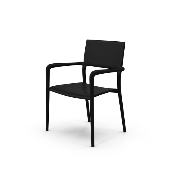 Black Arm Chair PNG & PSD Images