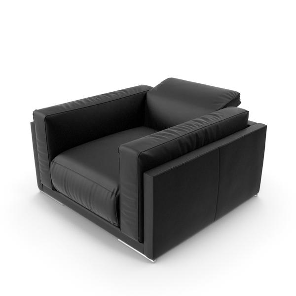Black Armchair PNG & PSD Images