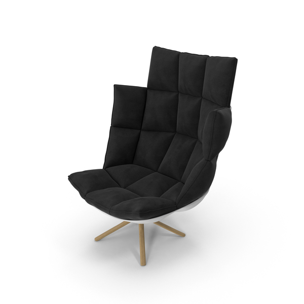 Black Armchair PNG & PSD Images