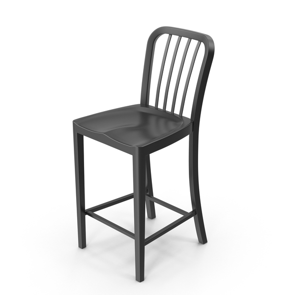 Black Bar Stool PNG & PSD Images