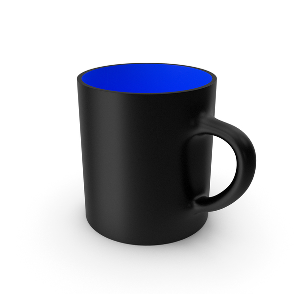 Zarf: Black Blue Cup PNG & PSD Images