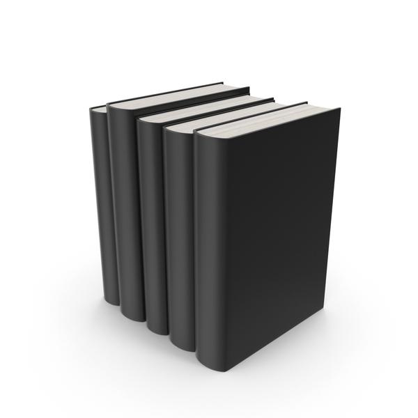 Black Book Set PNG & PSD Images