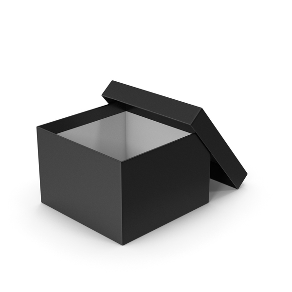 Black Box Opened PNG & PSD Images