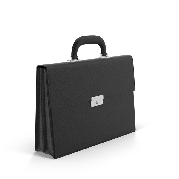 Black Briefcase Object