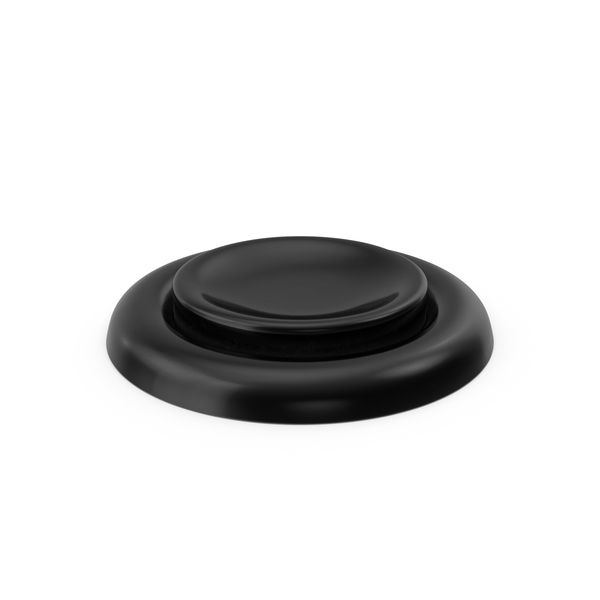 Black Button Object